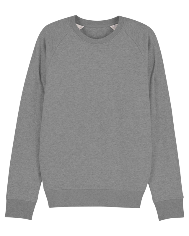 Mid heather grey sweater for him