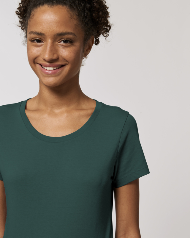 Mountain green t-shirt for her