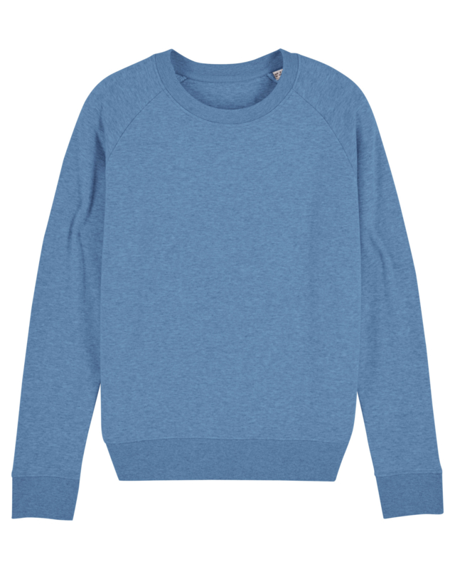 Mid Heather Blue sweater for her