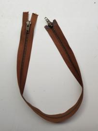 Rits-opruiming, bruin, 55 cm (BD6)