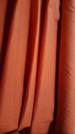 Biologische katoen, geverfd, 145 x 210 cm, WARM ORANJE