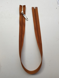 Rits-opruiming, bruin, 55 cm (BZ6)