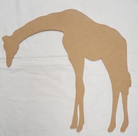 Giraf, MEDIUM, ca 36x36 cm