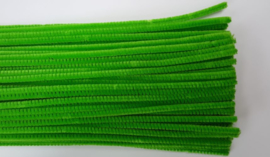 Chenilledraad, green, 50 cm lang