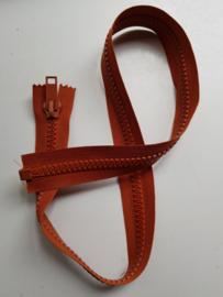 Rits-opruiming, oranjebruin, 78 cm (pb1)