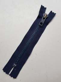 Rits-opruiming, donkerblauw, 13.5 cm (1c2)