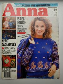 Zoldervondst: Anna, burda handwerken dec 1990