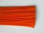 Chenilledraad, orange, 50 cm lang