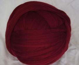Zuid-Amerikaanse merino, donker rood, vanaf 1 meter (534)
