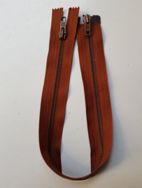 Rits-opruiming, bruin, 44 cm (br3)