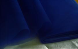 Tule, blauw, 145x290 cm