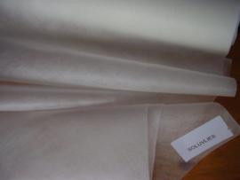 Soluvlies, lost op in water, 45 cm breed, vanaf halve meter