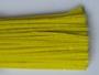 Chenilledraad, yellow, 50 cm lang