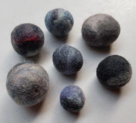 Wollen 'pebbles' STONE