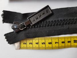 Rits-opruiming, zwart, 48 cm (ZNG)