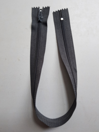 Rits-opruiming, grijs, 34 cm (ng9)