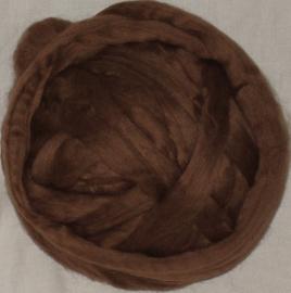 Zuid-Amerikaanse merino, bruin (=ongeverfd), vanaf 1 meter
