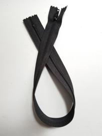 Rits-opruiming, zwart, 34 cm (nz9)