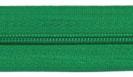 Ritsen van de rol maat 3, spiraalrits, groen