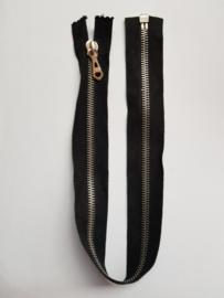 Rits-opruiming, zwart, 44 cm (DC4)
