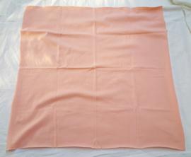 Dun tricot, zalm, 63x61 cm (TZK)