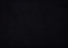 Dun naaldvilt, zwart, 14x25 cm