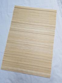 Bamboe mat voor vilten, afm 45x30 cm