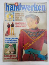 Zoldervondst: Handwerken, januari 1980 (MM)