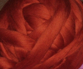 Zuid-Amerikaanse merino, donker oranjebruin, vanaf 1 meter (570)