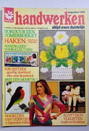 Zoldervondst: Handwerken, augustus 1980