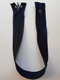 Rits-opruiming, donkerblauw, 34 cm (db4)