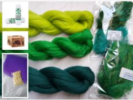 Net-even-een-extraatje-verdiend-knutselpakket groen, vanaf