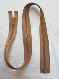 Rits-opruiming, lichtbruin, 76 cm (lb9)