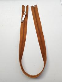 Rits-opruiming, bruin, 55 cm (JO6)