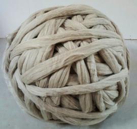 Merino lontwol, Zuid-Amerikaans, GREIGE (lichtgrijs / beige), vanaf meter.