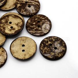 Kokosknoop, 37,5 mm., vanaf