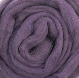 Europese merino, 'DUSTY' diep violet, vanaf 1 meter (614)