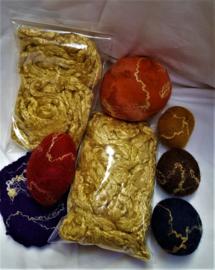 Zijdevezels 'goud'