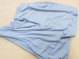 Dun tricot, zacht blauw, 165x45-55 cm (PMT)