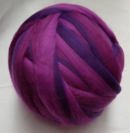 Dik lontwol gemeleerd, paars-lila, vanaf 1 meter