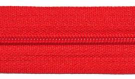 Ritsen van de rol maat 3, spiraalrits, rood