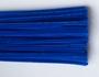 Chenilledraad,  blue, 50 cm lang