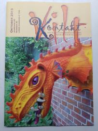 'Viltkontakt', magazine Viltkontaktgroep, najaar 2013, nummer 40