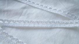 Lint, wit, 10 mm breed, per meter