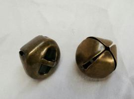 Belletjes boho stijl, SMALL, 8x10 mm, vanaf 10 stuks