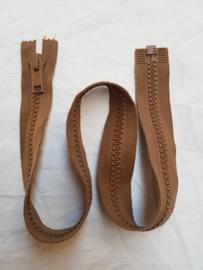 Rits-opruiming, zacht bruin, 71.5 cm (zb4)