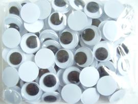 Opplakbare wiebeloogjes 14 mm