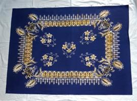 Batik blauw 90x72 cm