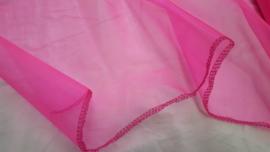 Organza, 50 cm breed, roze, per meter