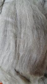 Merino lontwol, Europees gemengd, lichtgrijs, vanaf meter.
